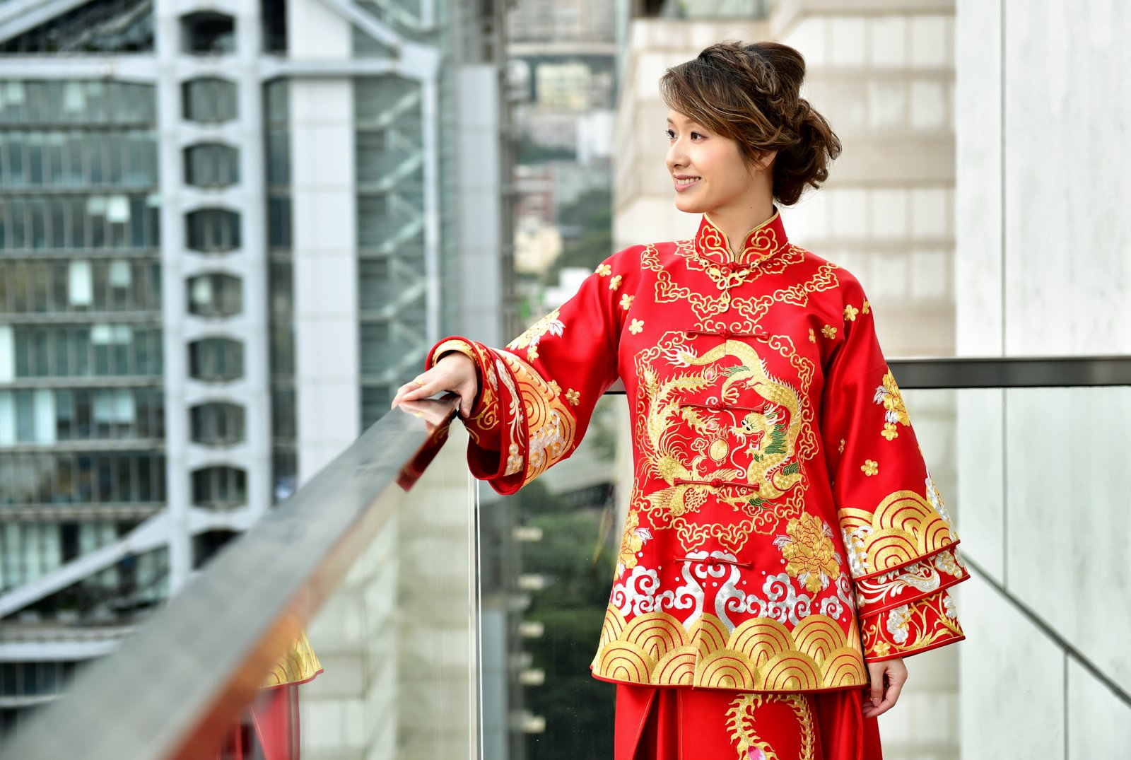 Chinese bride portrait Hong Kong wedding photography